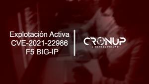 Explotación Activa CVE-2021-22986 F5 BIG-IP